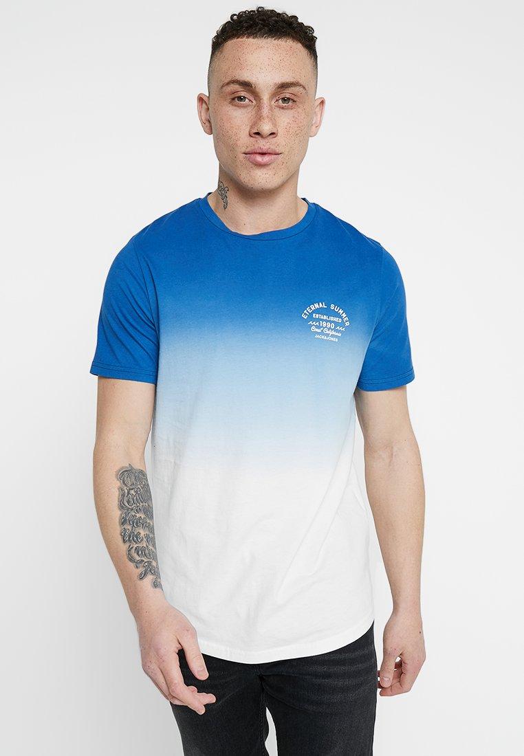 Jack & Jones - JORDEEPER TEE CREW NECK - T-shirt basic - blue depths