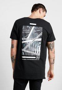 Jack & Jones - JCOLIME TEE CREW NECK - T-Shirt print - black - 2