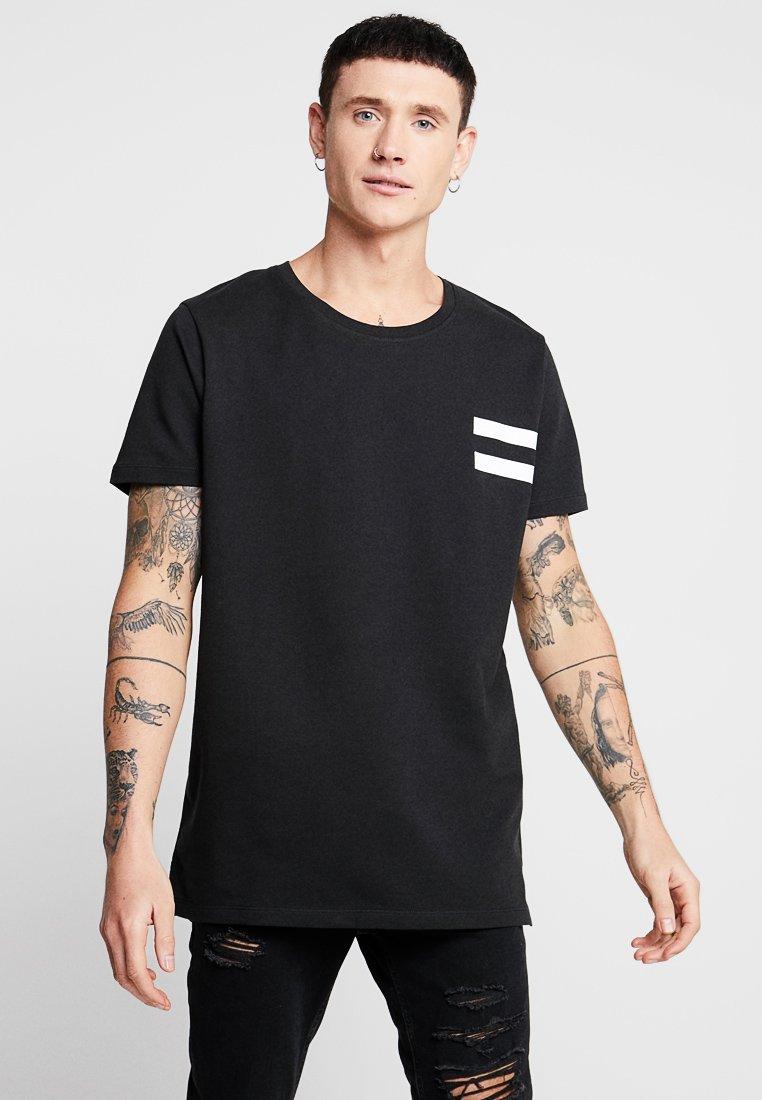 Jack & Jones - JCOLIME TEE CREW NECK - T-Shirt print - black