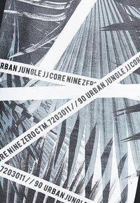 Jack & Jones - JCOLIME TEE CREW NECK - T-Shirt print - black - 5