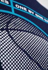 Jack & Jones - JCOFIELD TEE CREW NECK - T-shirt imprimé - maritime blue - 5