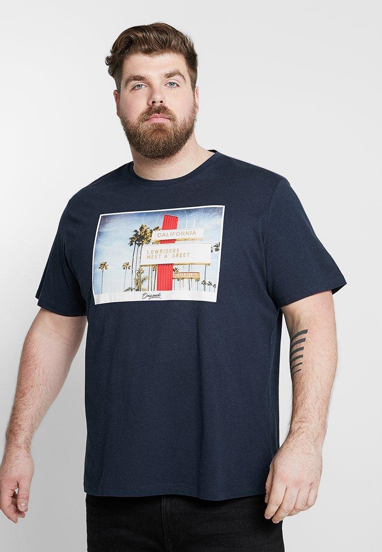 Jack & Jones - Camiseta estampada - total eclipse