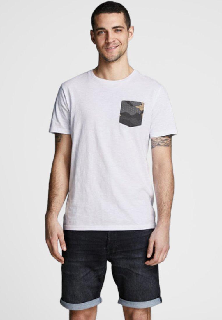 Jack & Jones - T-shirt print - white
