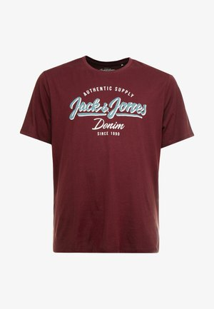 JJELOGO TEE  CREW NECK  - Print T-shirt - port royale