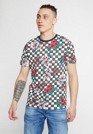 JORKHADIJ TEE CREW NECK - T-shirt med print - white