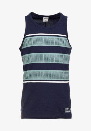 JCOSIMON TEE CREW NECK - Linne - maritime blue