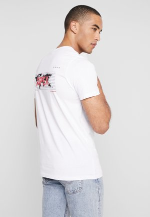 JCOAPEX TEE CREW NECK - T-Shirt print - white