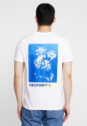 JORSPRINGS TEE CREW NECK - T-shirt print - white