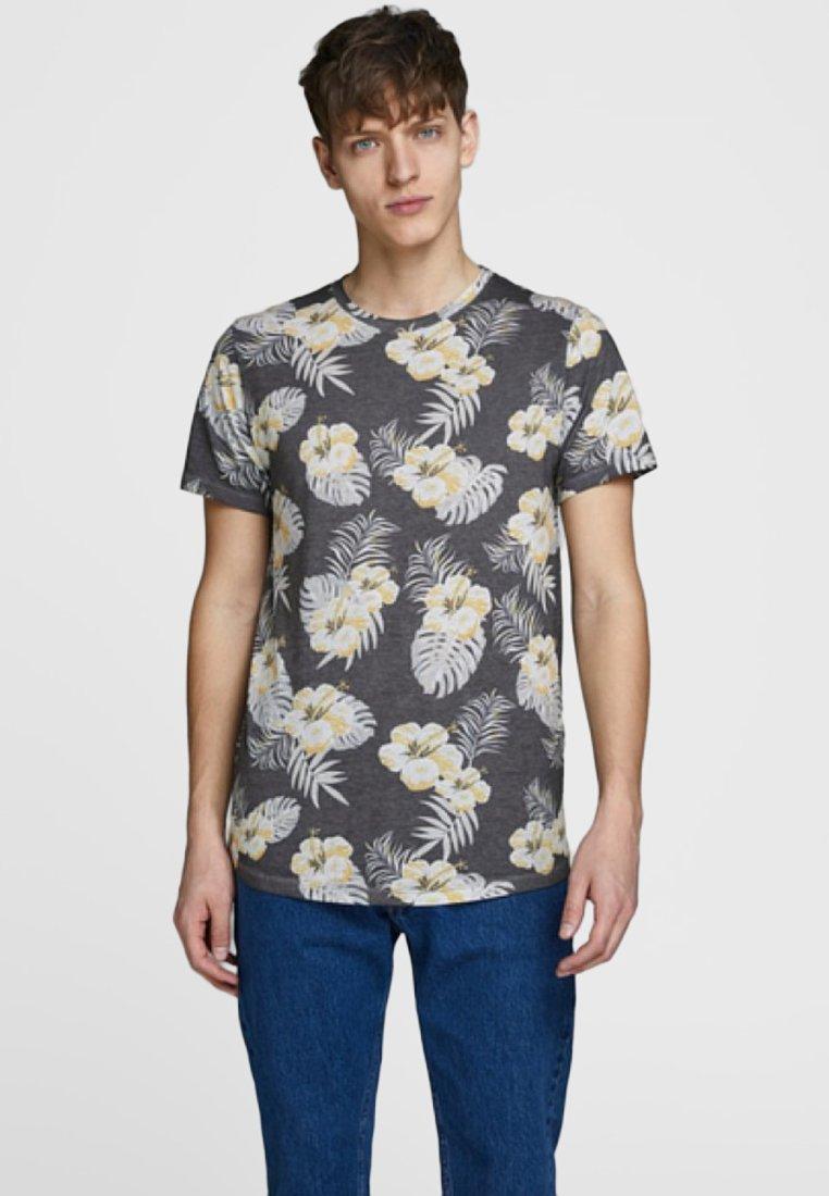 Jack & Jones - BOTANIK - T-Shirt print - dark blue