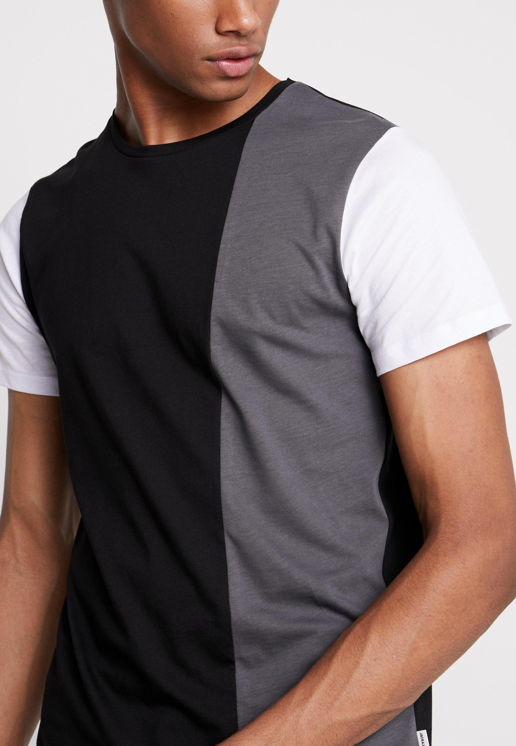 Jack & Jones JCOTEMP TEE CREW NECK - T-shirts print - white