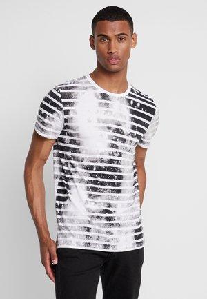 JORPLOP TEE CREW NECK - T-Shirt print - white