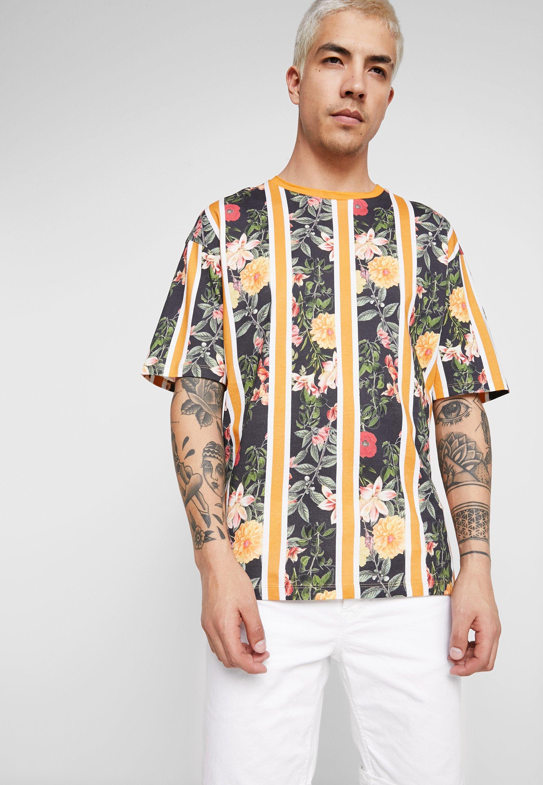 Jones Jorhayan shirt Sunflower Tee Imprimé Crew Jackamp; NeckT ARLj34q5