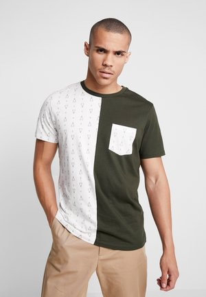 COGRED TEE CREW NECK - T-shirts med print - rosin