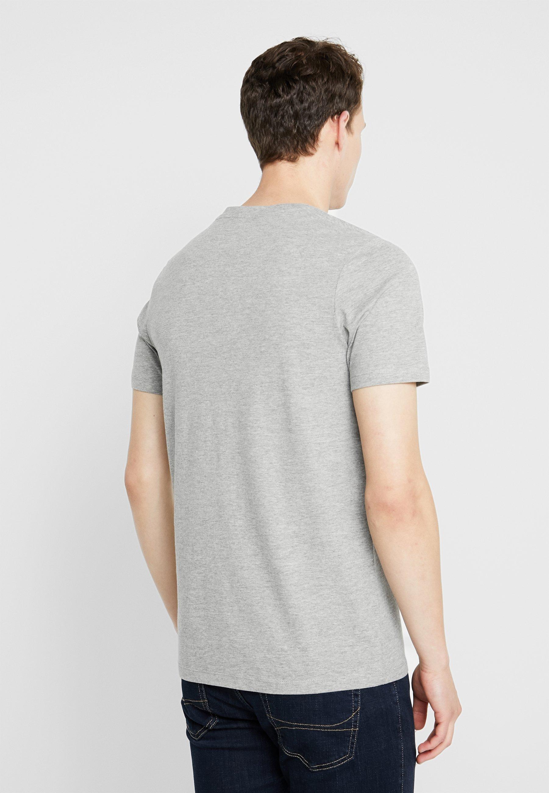NeckT Melange Crew Imprimé Jones Tee Jortowns Jackamp; Grey shirt Light shrxtQdC