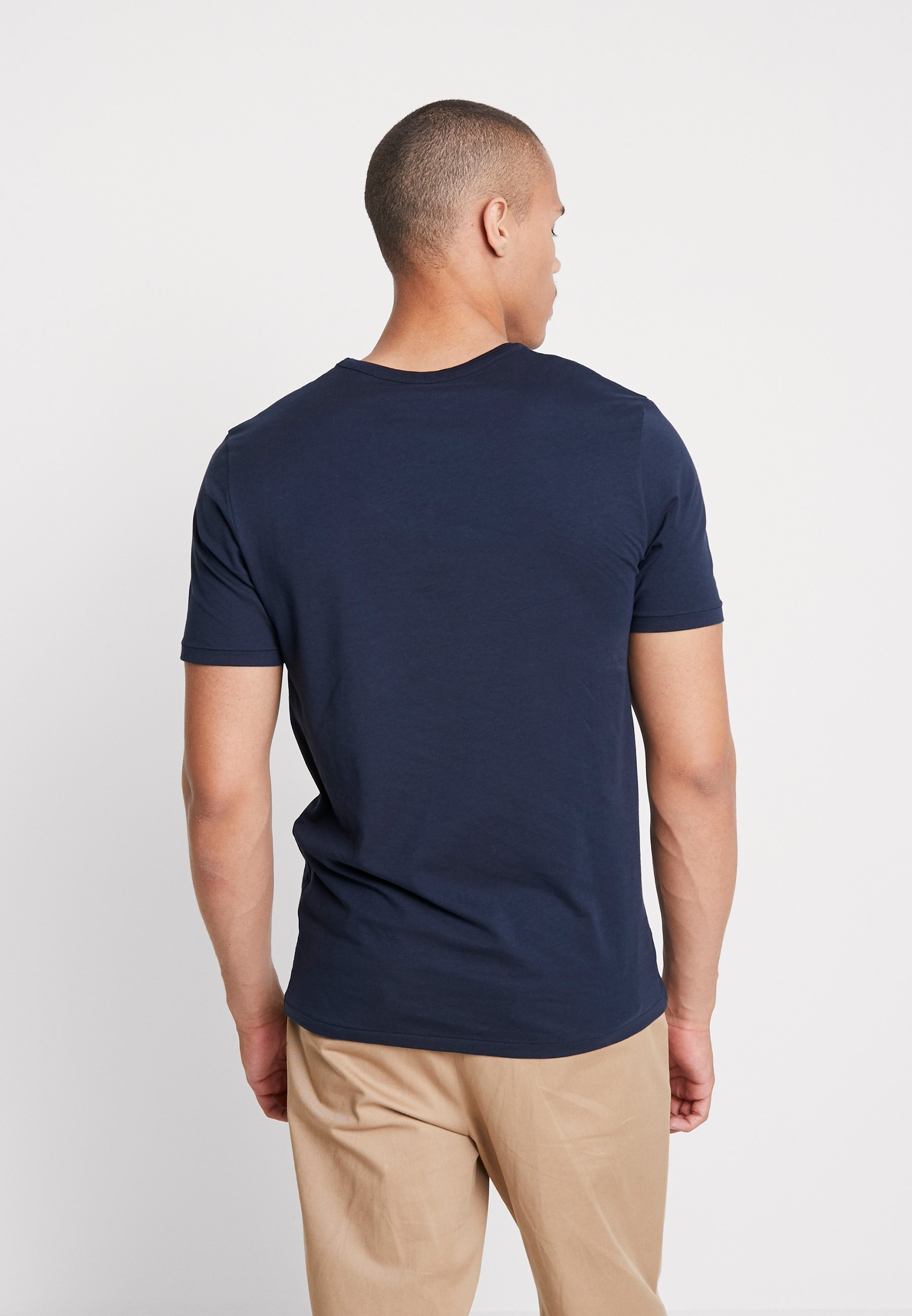 NeckT Imprimé Blazer Jones shirt Jordenvers Tee Crew Navy Jackamp; 4q35LARj