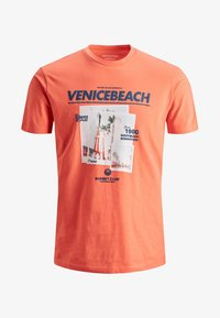 Jack & Jones - T-Shirt print - persimmon - 5