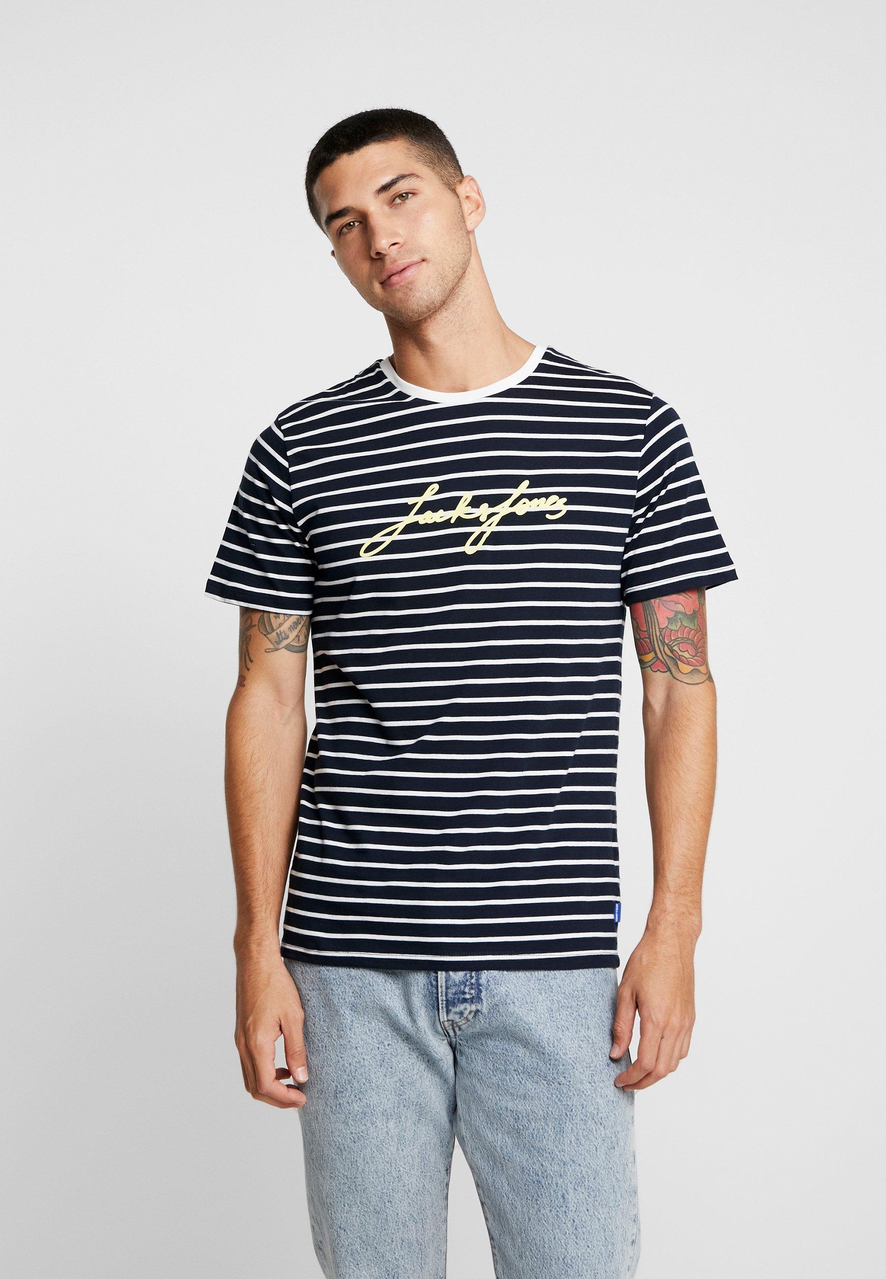 NeckT Tee Jackamp; Eclipse Con Stampa Total Jones Jorcharlie Crew shirt Jc3lFKT1