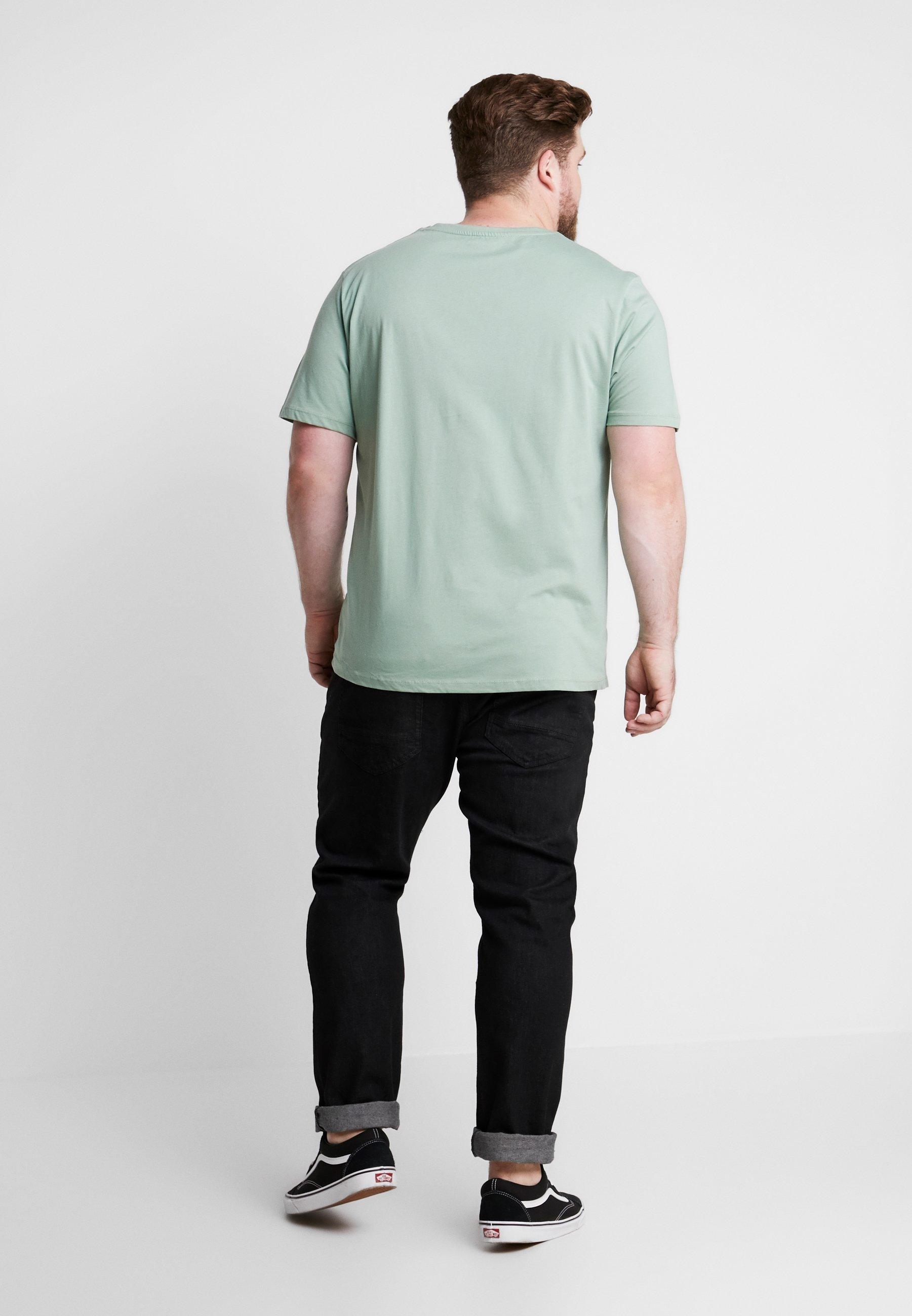 Imprimé Bay NeckT shirt Tee Green Joradventure Jones Crew Jackamp; wkPXn0O8