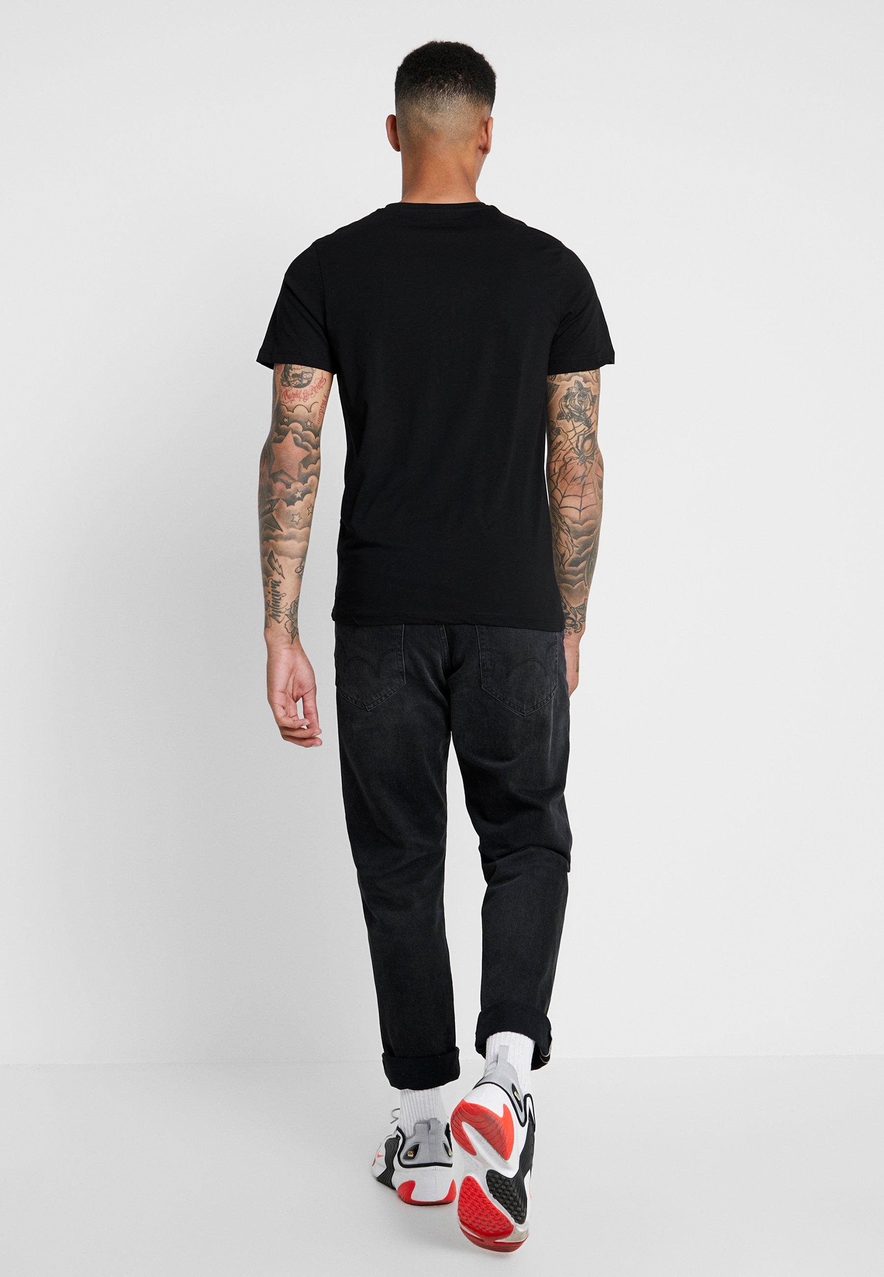 Jones Tee Black Joradventure Crew NeckT Jackamp; Imprimé shirt ZuXiPOk