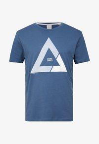 Jack & Jones - JCOQUICK TEE CREW NECK  - T-shirt print - ensign blue - 4