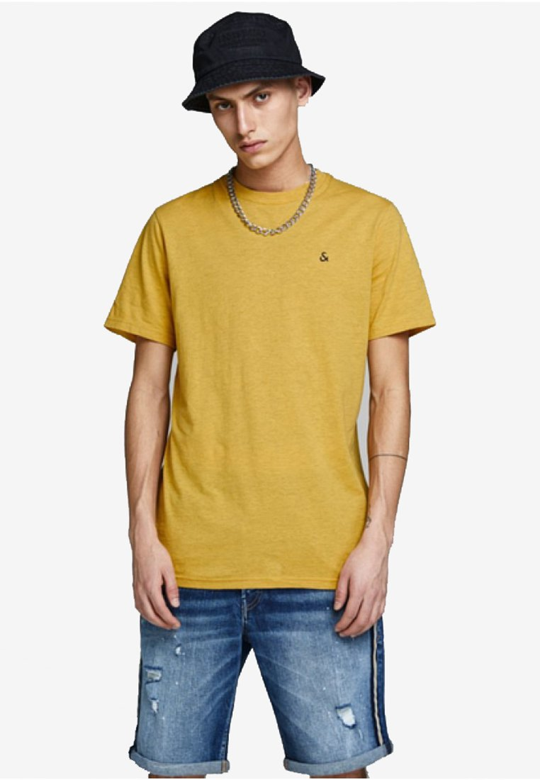 BasiqueYolk Jackamp; T Yellow Jones shirt dxCrBWoe
