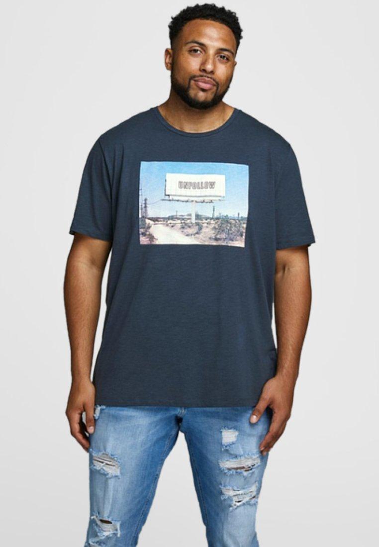 Jack & Jones - T-Shirt print - total eclipse