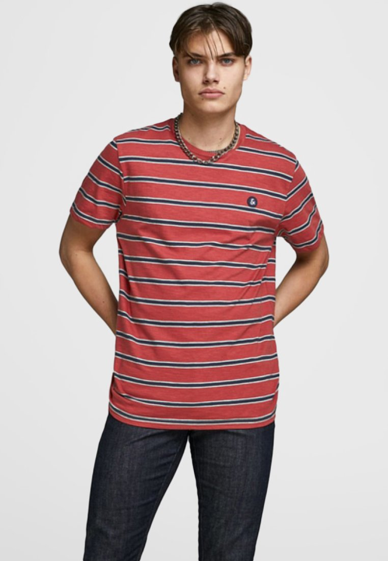Jack & Jones - T-Shirt print - red