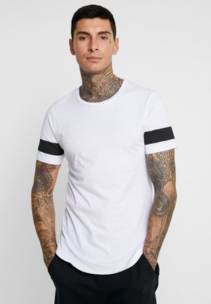 JCOREFLECT  - T-shirt z nadrukiem - white