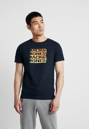 JONNIE TEE CREW NECK - T-shirt med print - sky captain
