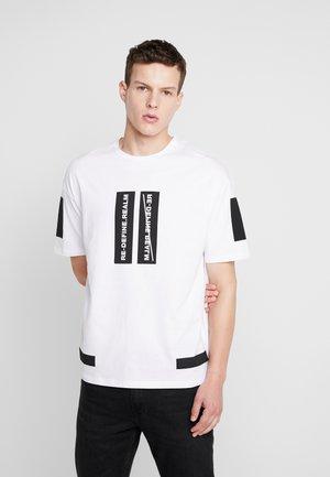 JCOMONO TEE CREW  NECK - T-shirt con stampa - white