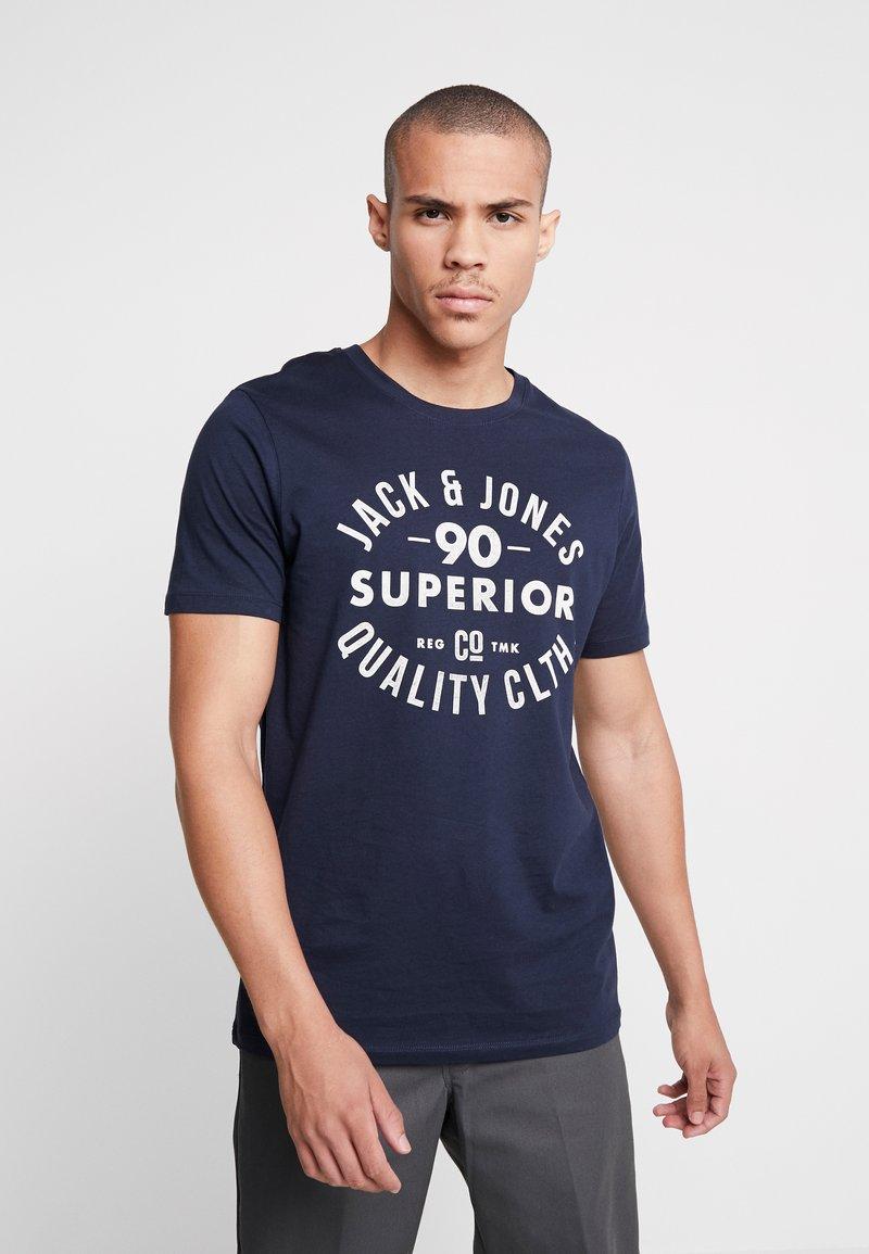 Jack & Jones - T-shirt imprimé - navy blazer