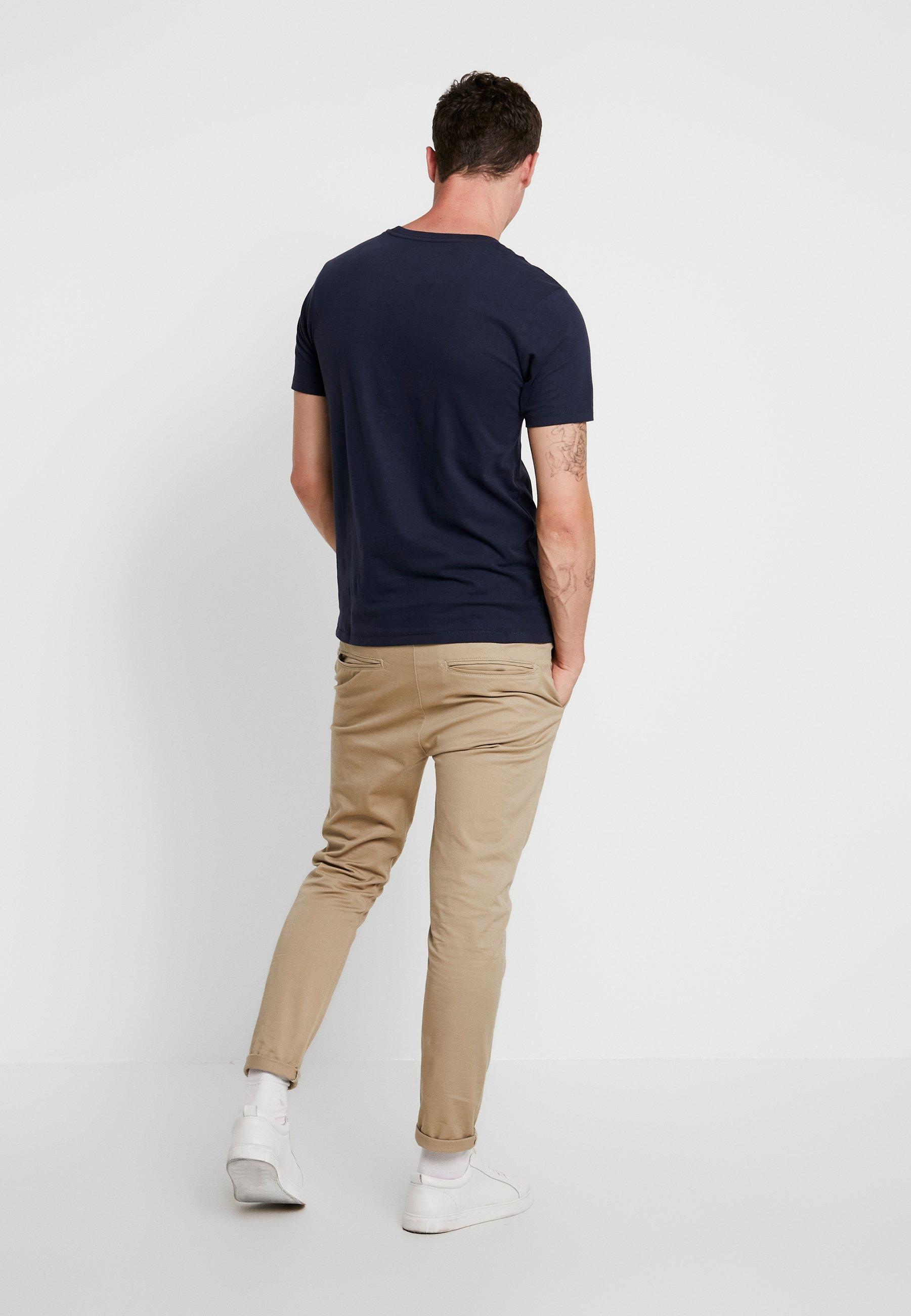 Jackamp; Slim Jones Navy NeckT Crew shirt Jorskoll Blazer Fit Tee Imprimé SUMpzV