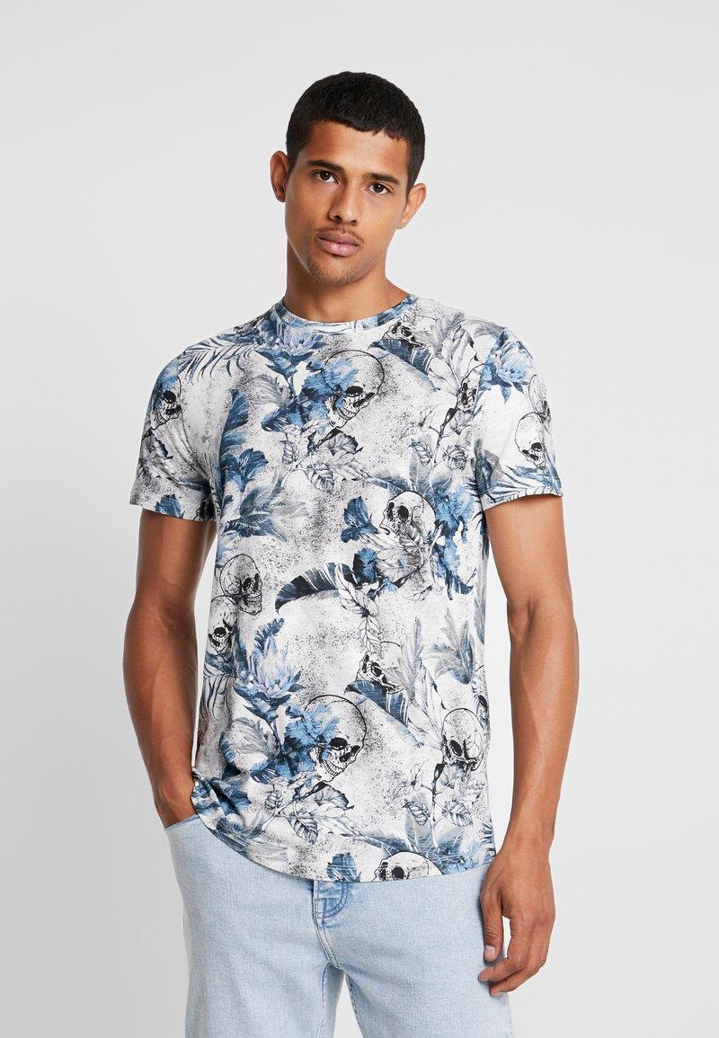 Jack & Jones - JORNATE TEE CREW NECK - T-Shirt print - cloud dancer