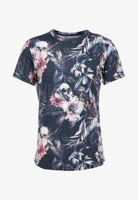 Jack & Jones - JORNATE TEE CREW NECK - T-shirt med print - navy blazer - 4