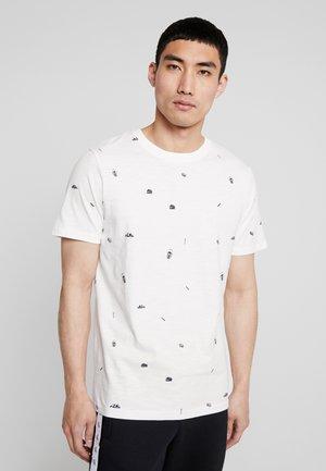 JORDELY TEE CREW NECK - T-shirt print - cloud dancer