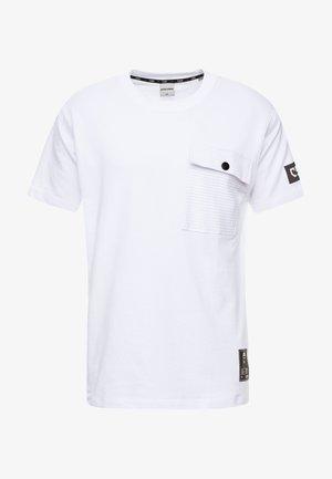 JCOHORCH TEE CREW NECK AMERICAN FIT - T-shirt print - white