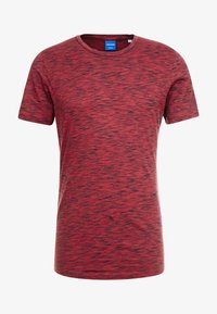 Jack & Jones - JORSPACEY TEE CREW NECK - Camiseta estampada - brick red - 3