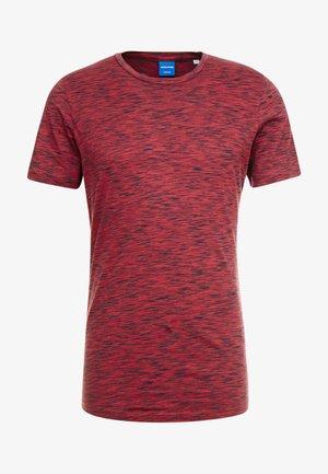 JORSPACEY TEE CREW NECK - T-shirt z nadrukiem - brick red