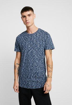 JORSPACEY TEE CREW NECK - T-shirt print - navy blazer