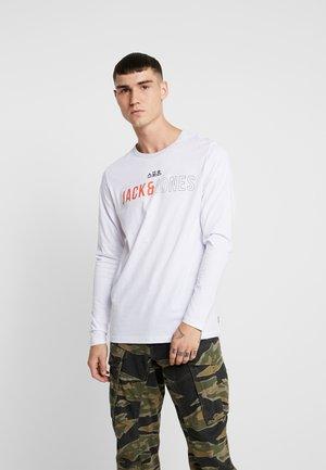 JCOMONDO TEE CREW NECK - Long sleeved top - white