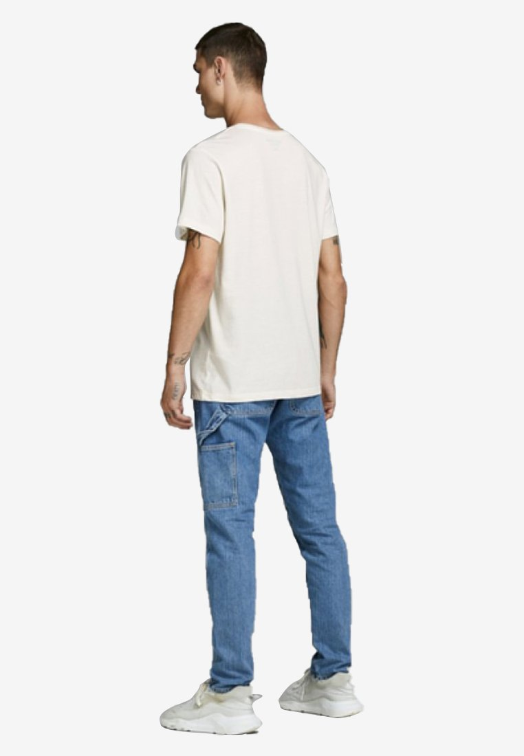 Jack & Jones T-shirt z nadrukiem - cloud dancer