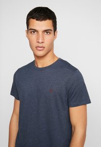 Jack & Jones - JORBASIC TEE CREW NECK 3-PACK  - Jednoduché triko - white packed with tem - 4