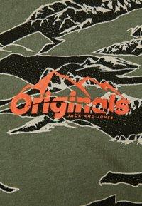 Jack & Jones - Print T-shirt - dusty olive - 3