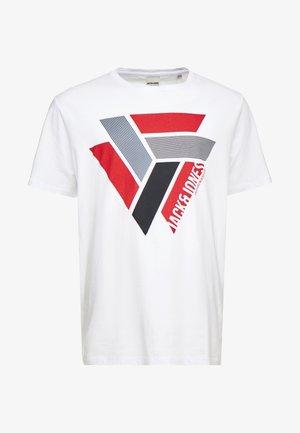 JCOHORIN TEE CREW NECK - T-shirt print - white