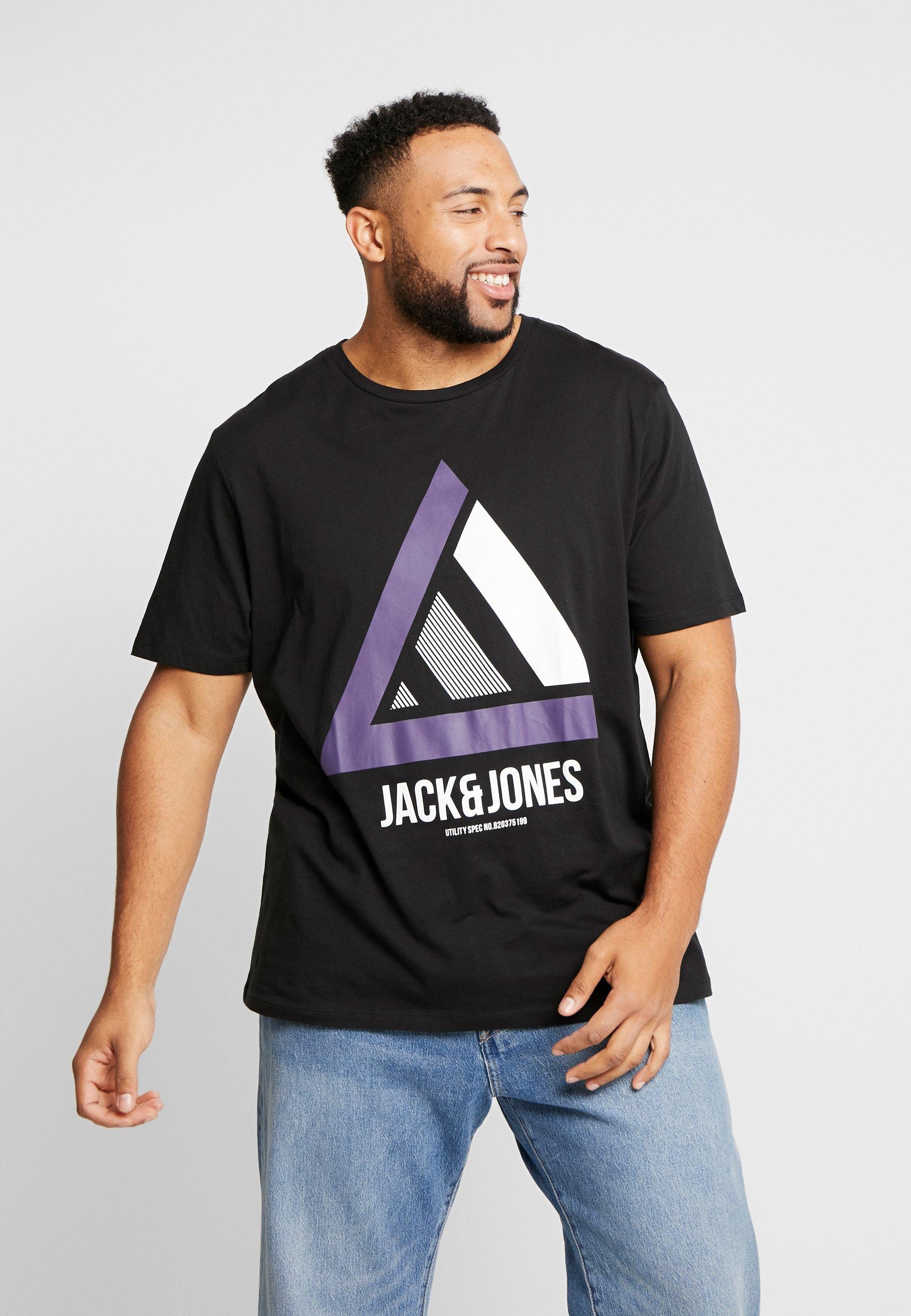 Jones TEE Jackamp; JCOHORIN NECKT black print CREW Shirt BeCrdxoW