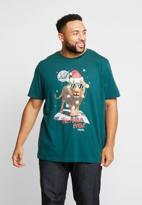 Jack & Jones - JORJINGLE  - T-shirt med print - sea moss - 0