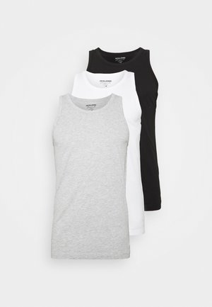 JORBASIC TANK 3PACK - Top - white/black/grey