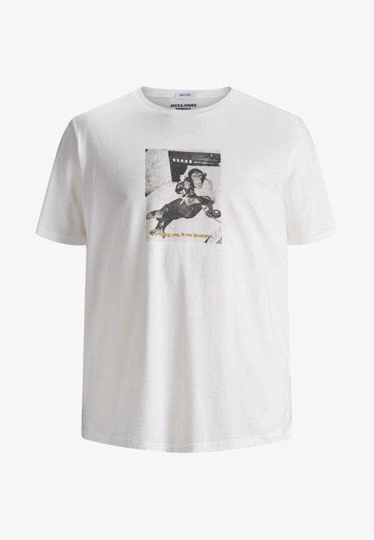 Jack & Jones - Camiseta estampada - cloud dancer