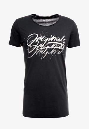 JORWAC TEE CREW NECK - T-shirt con stampa - tap shoe