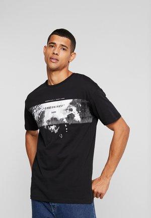 JCOROLL CREW NECK - T-shirts print - black